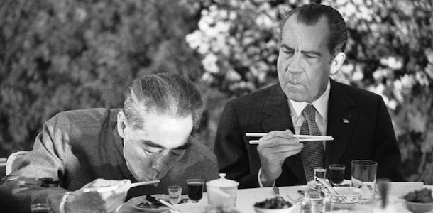 Richard Nixon, Chou En-lai