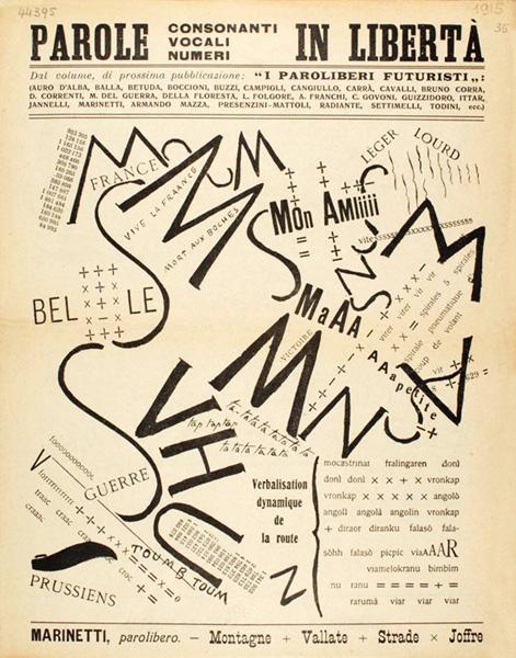 11 maggio 1912: il Manifesto Tecnico della Letteratura Futurista - Il