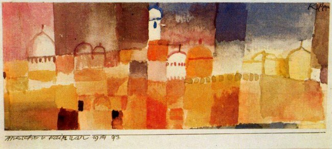 Paul-Klee-View-of-Kairouan-