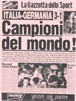 Ricordi di vittoria: 1982 e 2006