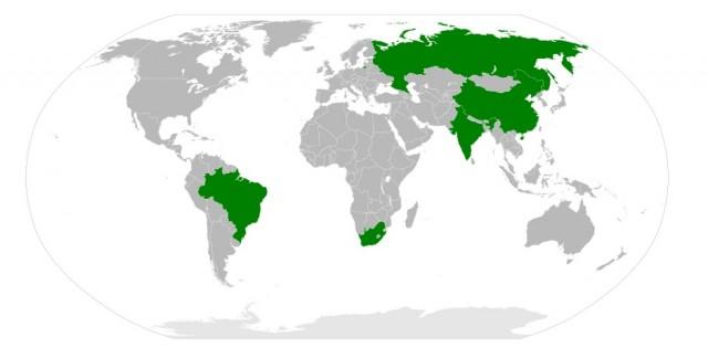 Paesi appartenenti ai BRICS
