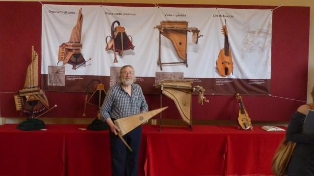 Michele Sangineto e i suoi strumenti