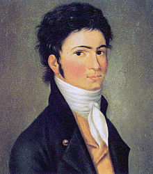 Beethoven ritratto da Riedel