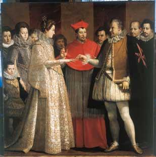 Jacopo da Empoli Matrimonio di Maria de' Medici - 1600