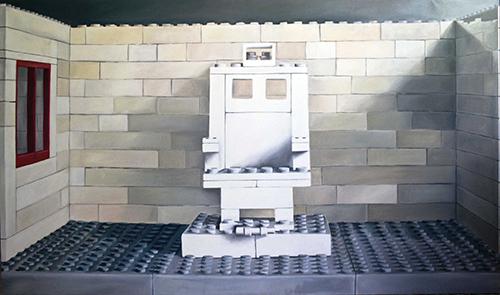 COGO Lego, 180x150cm, 2008