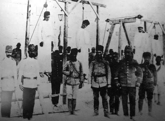 Armeni impiccati ad Aleppo