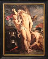 San Sebastiano soccorso da angeli