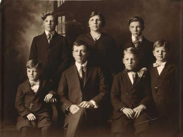 13_Famiglia_Pollock_1918