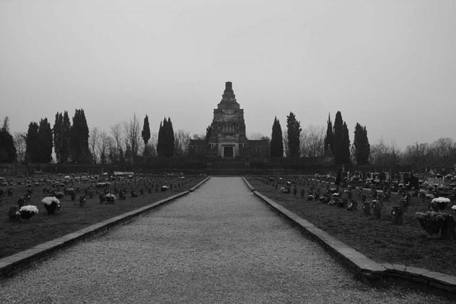 Il cimitero del villaggio di Crespi d'Adda