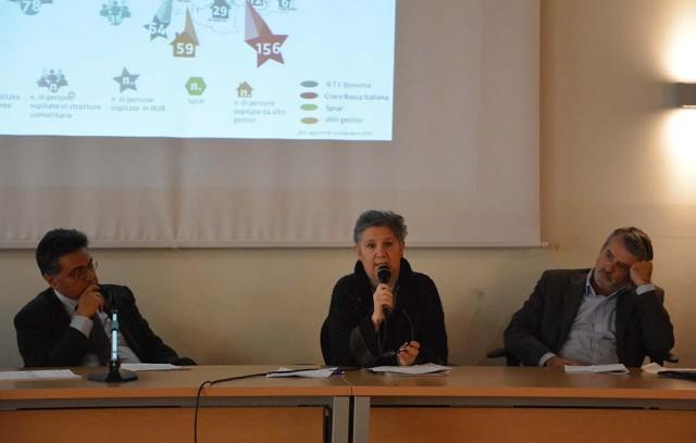 Da sinistra: Fabrizio Annaro, Cherubina Bertola, Antonello Formenti.