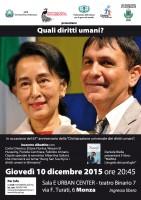 Diritti umani: una speranza da accendere
