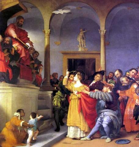 Lorenzo Lotto - Pala di Santa Lucia 1532