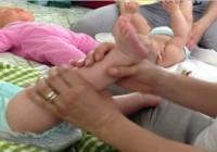 Massaggio infantile: messaggio d'amore