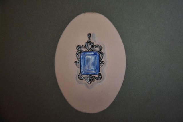 Bozzetto preliminare per la realizzazione del gioiello