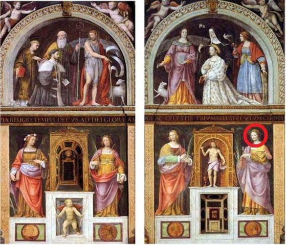 Bernardino Luini - San Maurizio al Monastero Maggiore, Milano