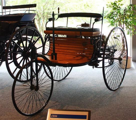 La Benz Patent Motorwagen del 1886 - fotografia di softeis