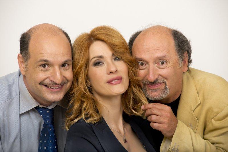 Da sinistra: Gianluca Ramazzotti, Milena Miconi, Antonio Cornacchione
