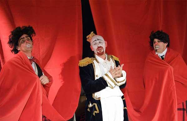 Sul palcoscenico Alessandro Larocca, Andrea Ruberti, Max Zatta