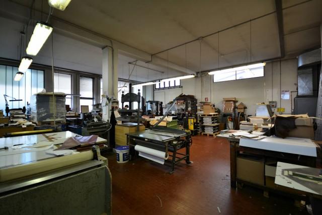 Visione d'insieme del laboratorio
