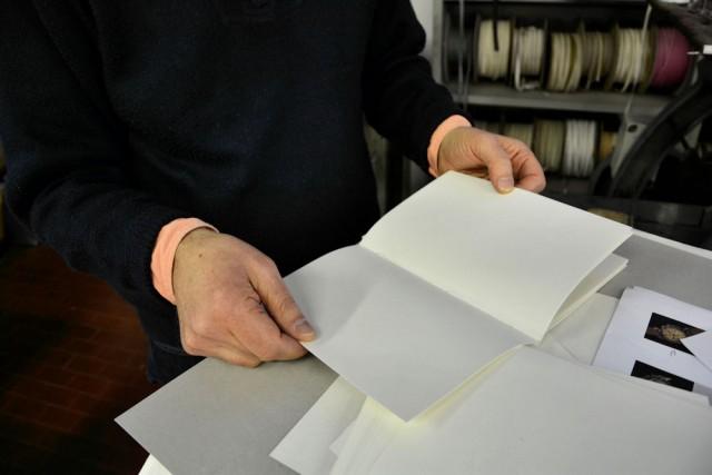 """""""Quartini"""" utilizzati per la formazione del libro"""