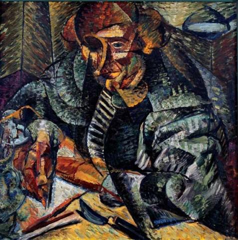 Umberto Boccioni, Antigrazioso, 1912-1913