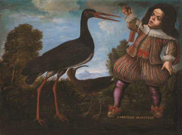 Anonimo fiorentino del XVII secolo Ritratto del nano Gabriello Martinez 1640 ca.