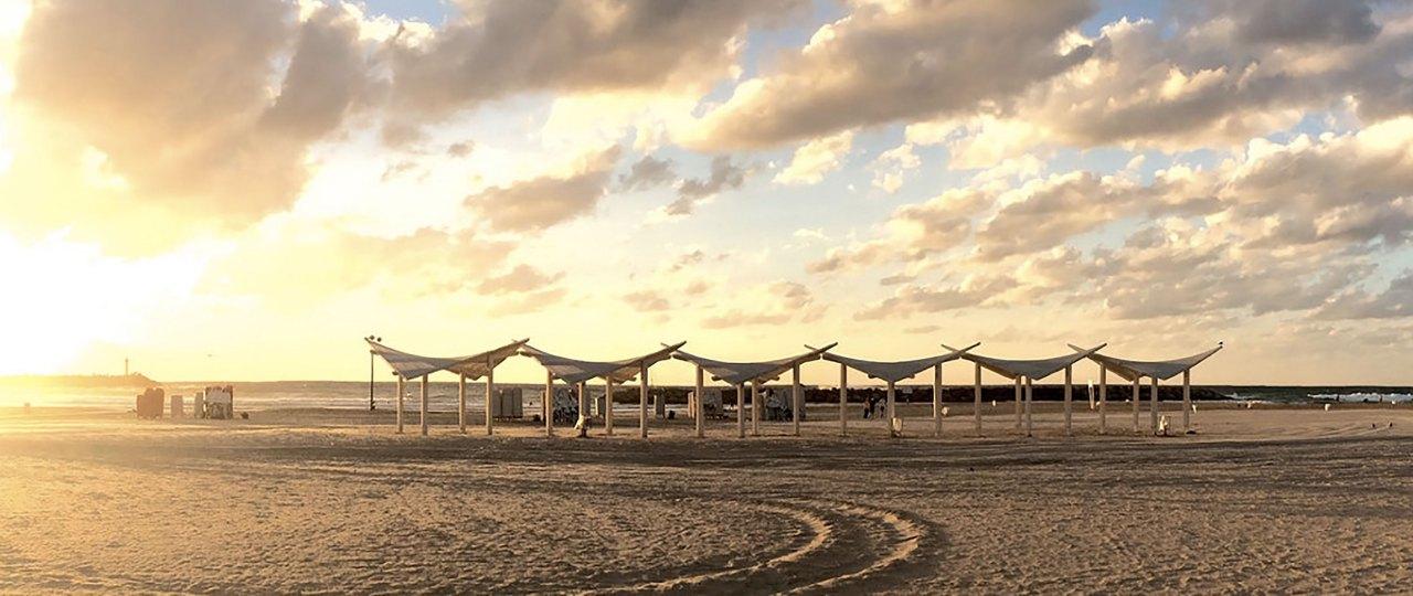 Herzliya-spiaggia