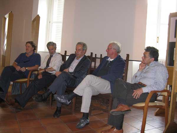 Da sinistra: Johnny Dotti, Roberto Mauri, Roberto D'Alessio, Luigi Losa, Fabrizio Annaro