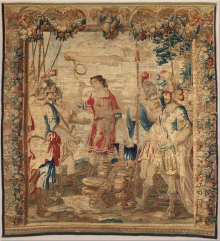 Quinto Sertorio concede il bottino ai suoi soldati 1660-70