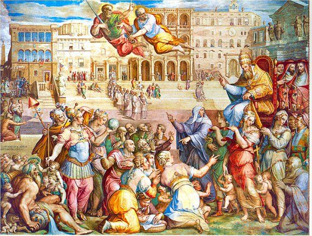 Ritorno di Gregorio XI da Avignone