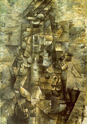 Braque, Man with a Guitar 1911