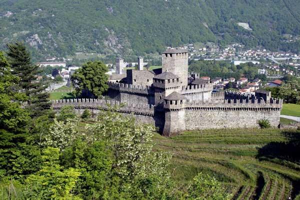 Castello di Montebello - Bellinzona