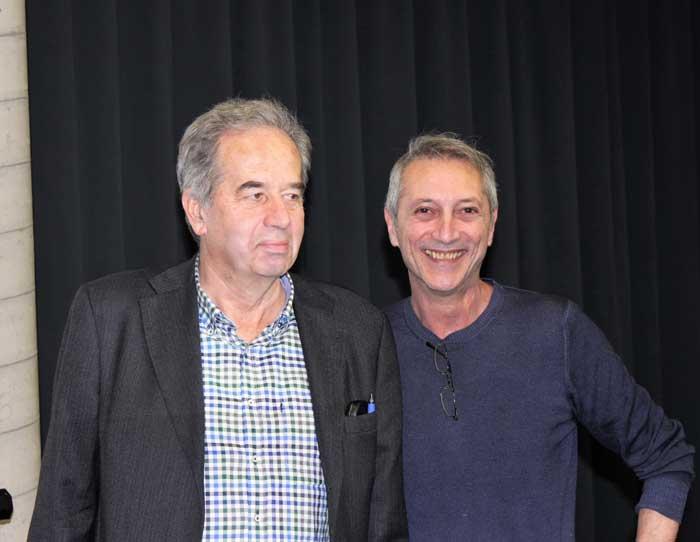 Roberto D'Alessio a sx e Roberto Bestazza
