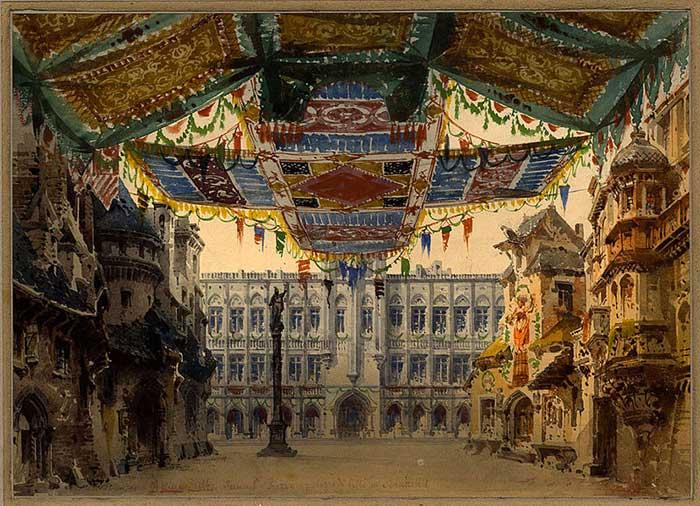 Donizetti, Il Duca d'Alba - Roma, Teatro Appolo 1882