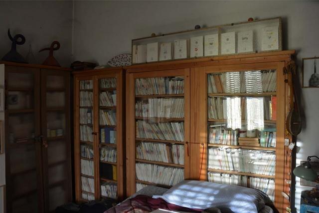 I 10.000 volumetti che Alberto ha stampato nel corso degli anni