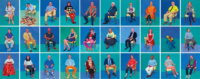 I ritratti di David Hockney in mostra