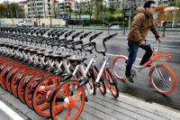 Il bike sharing cinese arriva anche in Italia