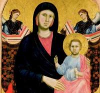 Giotto e la Madonna di San Giorgio alla Costa, opera pubblica