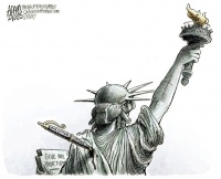 La Statua della Libertà tradita