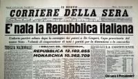 2 giugno 46 nasce la Repubblica italiana