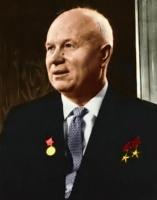 Nikita Kruscev a capo dell'Unione Sovietica