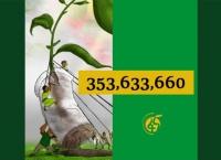 Oltre 350 milioni di alberi piantati in un giorno