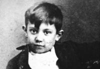 Picasso bambino, geniale e dislessico