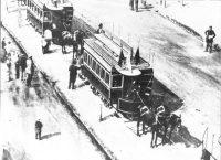 Il primo tram di Monza