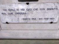 """Dante Alighieri: """" … disfatti per lor superbia"""""""