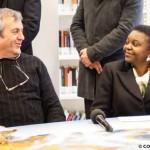 Cécile Kyenge con Don Colmegna