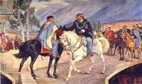 L'incontro tra Garibaldi e Vittorio Emanuele II (che non avvenne a Teano)