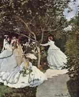 Donne in giardino