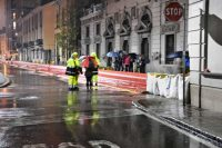 La situazione del Lambro a Monza. Le immagini