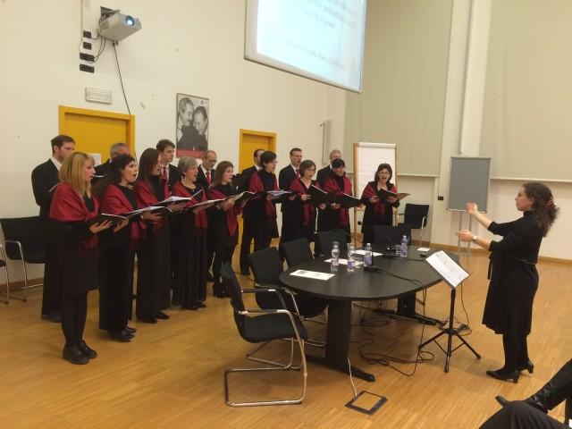 Daniela cattaneo e il coro Vocalincanto